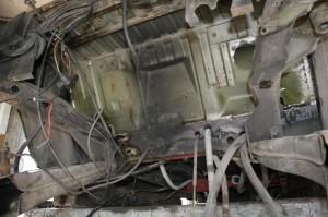 Tankbereich 2wd ohne Halter